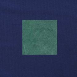Blauwgroen op donkerblauw