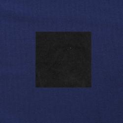 Zwart op donkerblauw