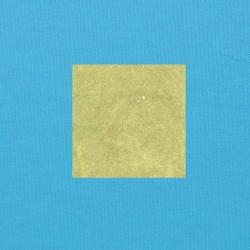 Lichtgroen op helderblauw