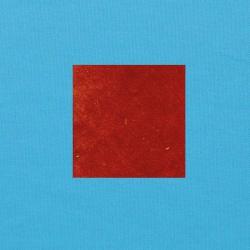 Terracotta op helderblauw