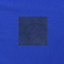 Blauw op kobaltblauw