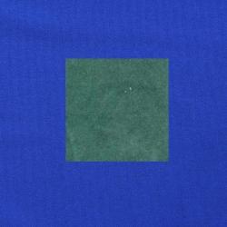Blauwgroen op kobaltblauw