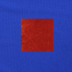 Terracotta op kobaltblauw