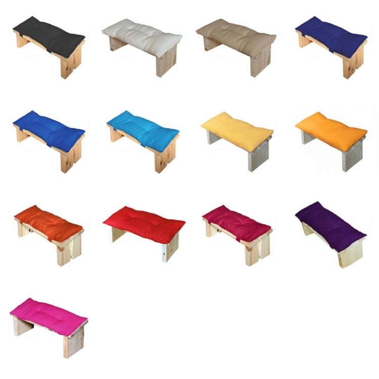 Kussen voor meditatiebankje, alle kleuren
