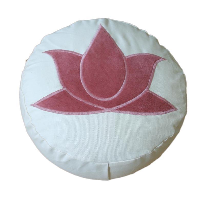 Ronde meditatiekussens Lotus, Yin Yang...