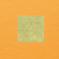Lichtgroen op oranjegeel