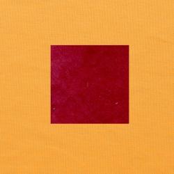 Rood op oranjegeel