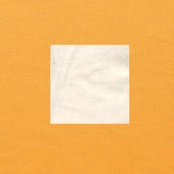 Wit op oranjegeel