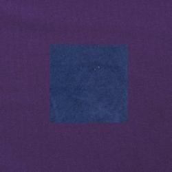 Blauw op paars