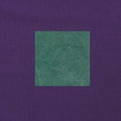 Blauwgroen op paars