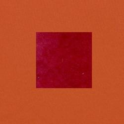 Rood op terracotta