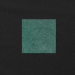Blauwgroen op zwart